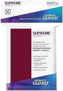 Ultimate Guard UGD010803 Supreme UX Card Sleeves, Standard, Burgundy