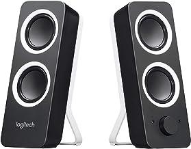 Logitech Z200 2.0 Lautsprecher mit Subwoofer, Surround Sound, 10 Watt Spitzenleistung, 2x..