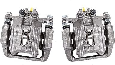 Callahan CCK04264 [2] REAR Premium Semi-Loaded Original Caliper Pair + Hardware Brake Kit