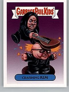 2017 Topps Garbage Pail Kids Series 2 Alternative #2A CRASHING KIM