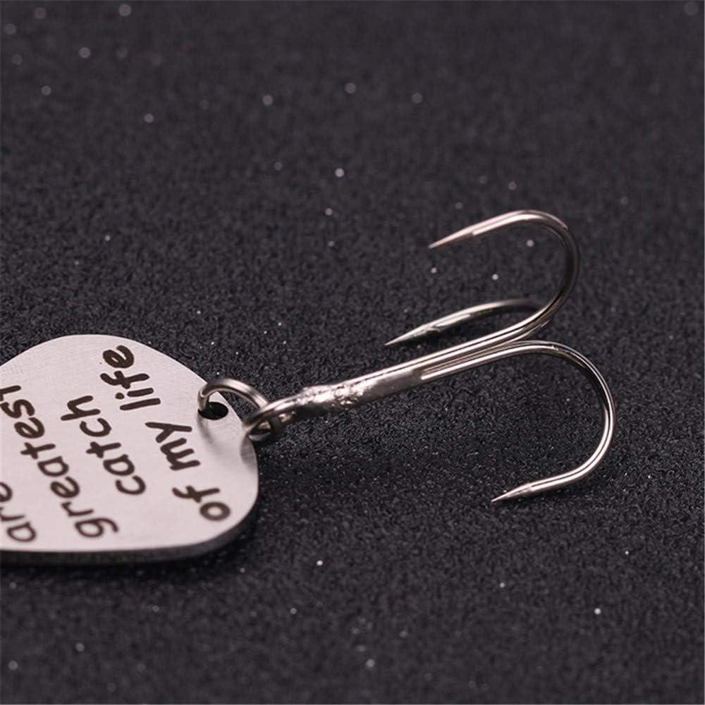 Jewelry meiqi Se/ñuelo de pesca con gancho personalizado.