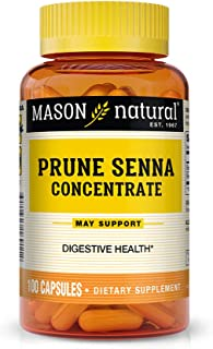 Mason Natural Prune Senna Concentrate Capsules, 100 Count