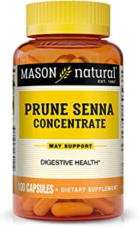 Mason Natural Prune Senna Concentrate Capsules, 100 Count