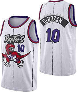 NBA Raptors Basketball Jerseys,Demar DeRozan 10# Men's Basketball Clothes Cool Breathable Fabric Swingman Sleeveless Vest ...