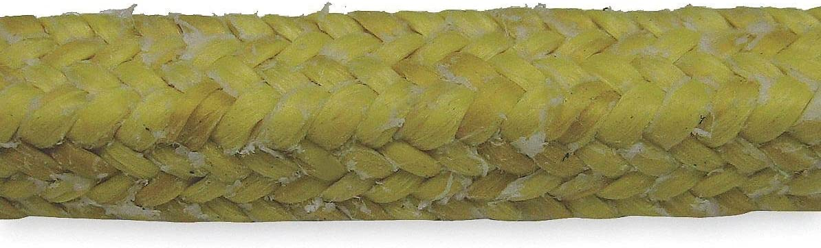 online shopping El Paso Mall Palmetto Packing 25 ft. S Compression Para-Aramid Yellow