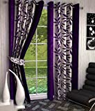 Enhances the look of the room. Made by 100% Fine Quality Polyester. Easy to hang and maintain.