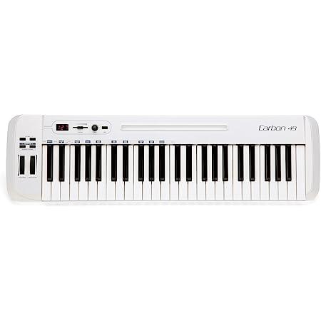 Samson Carbon 49 - Controlador MIDI (USB, 49 teclas): Amazon ...