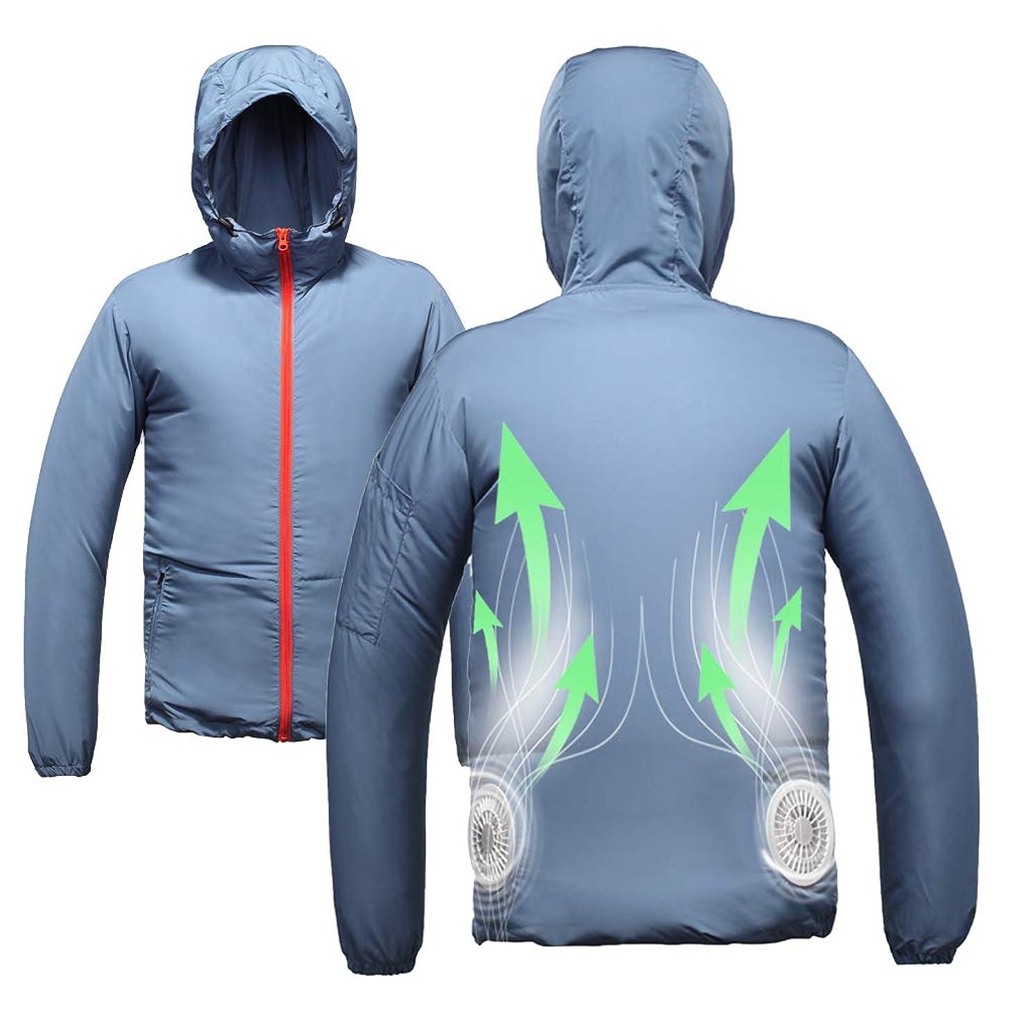 day wolf 空調服 薄手 UVカット アウトドア 登山 釣り ゴルフ 作業ジャケット