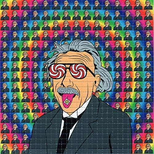 Albert Hofmann Tab On Tongue Design BLOTTER Art...