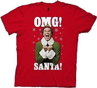 Elf OMG Santa Adult T-Shirt