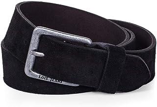 Lois - cinturon piel serraje ante hombre mujer cuero. Talla Ajustable 35 mm de ancho 49809
