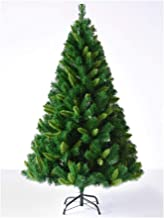 Christmas Décor Artificial Christmas Tree Mixed Leaf Christmas Tree Solid Metal Legs Easy to Assemble Indoor and Outdoor C...