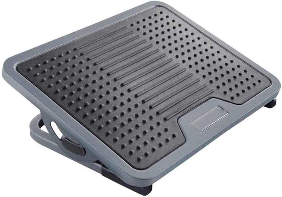 HnF The Footrest Under Super sale period limited Desk to Easy Gray Angle Max 57% OFF Adjustable