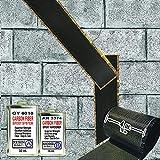 carbon fiber wall repair kit - 50 ft-Carbon Fiber-Basement Wall Crack Repair Kit