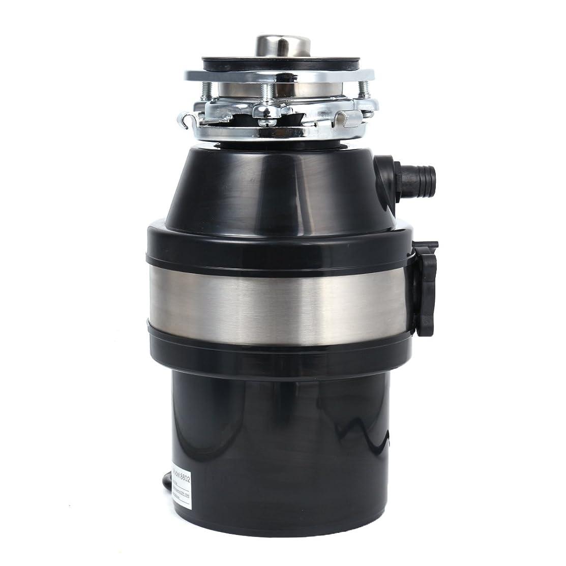 370W 220V Waste Disposer Food Garbage Sink Disposal Garbage Disposal with Power Cord US Plug