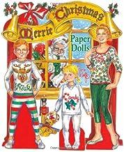 Merrie Christmas Paper Dolls