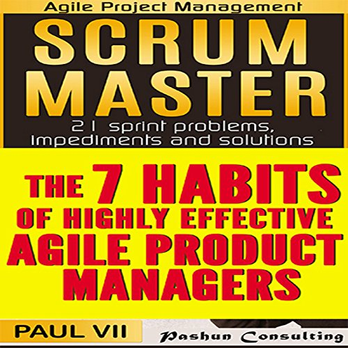 Agile Product Management audiobook cover art