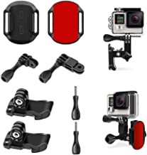 Motorcycle Riding Helmet Chin Mount Kits for GoPro Hero 4 5 6 7 8/AKASO/Campark/Other Action Camera