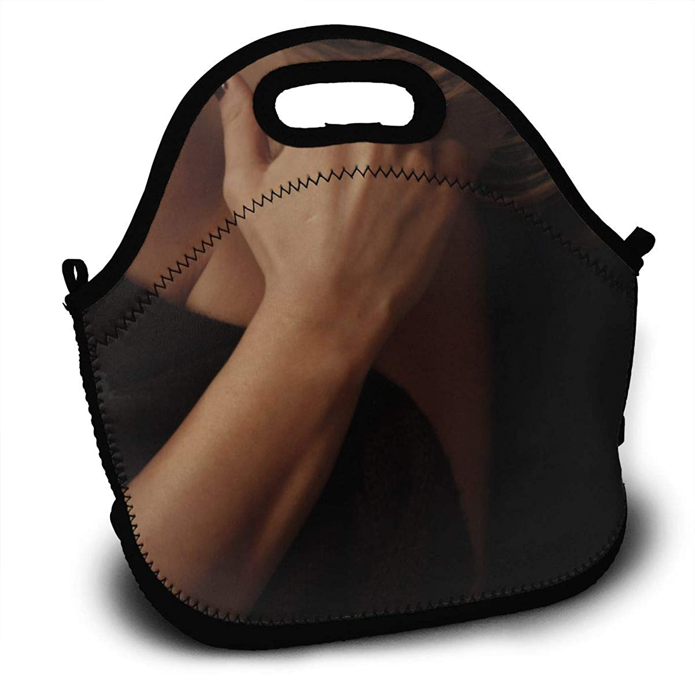 側溝スラムトークンランチバッグ 大容量弁当バッグ ファミリーバッグ 男女兼用バッグ 鎖骨辺りに手を当て 通勤 通学バッグ 面白いバッグ 創意柄 可愛いアニマル バッグ