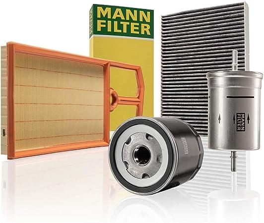 Original Mann Filter Wartungspaket Aus 1x Luftfilter C 4287 2 1x Kraftstofffilter Wk 730 1 1x Innenraumfilter Cuk 2862 Und 1x Ölfilter W 712 52 Für Pkw Auto