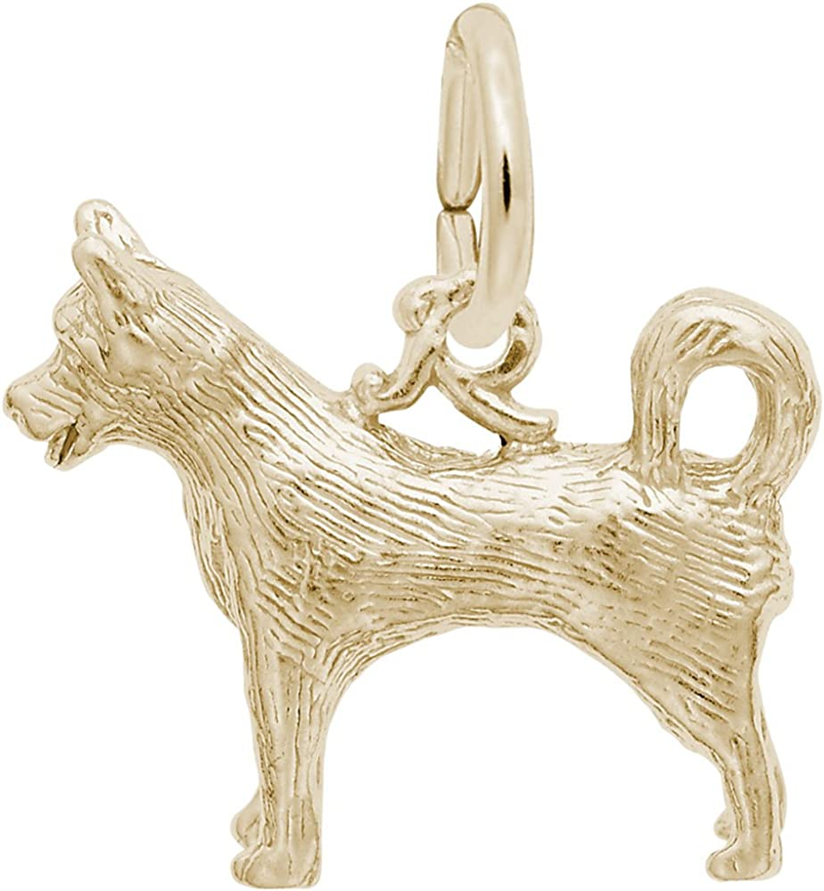 Rembrandt Charms Husky Charm Ranking National products TOP6 Pendant or Sterli Gold in Available