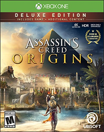 Ubisoft Assassins Creed Origins Deluxe Xbox One English video game - Video Games (Xbox One, Action / Adventure, RP (Rating Pending))