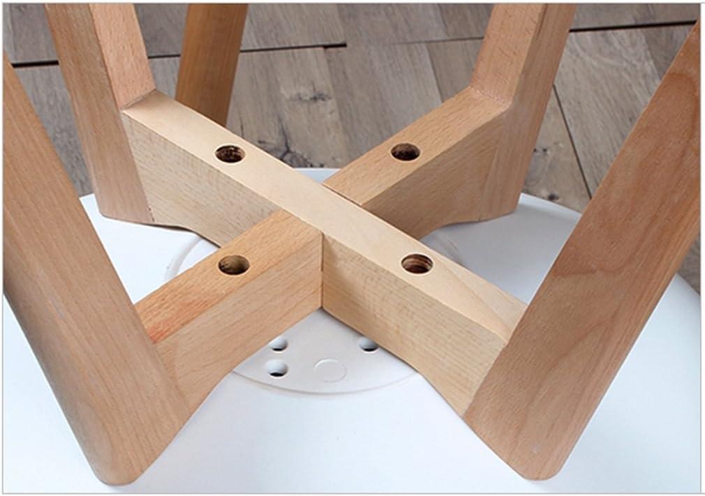 Chaise de salle à manger SLL- Chaises créatives en Plastique en Bois Simples Modernes de de Chaise de Loisirs Moderne (Color : D) C