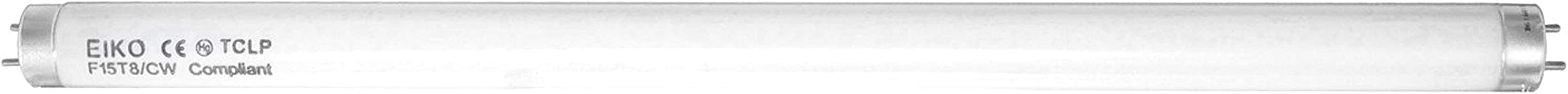 """Camco 54878 Replacement F15T8/CW 18"""" Fluorescent Light Bulb - Pack of 2"""
