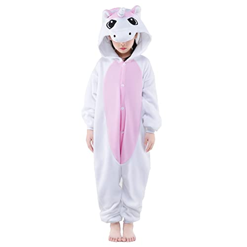 2098bedfb254 NEWCOSPLAY Onesie Unisex Kids Unicorn Cosplay Animal Costume