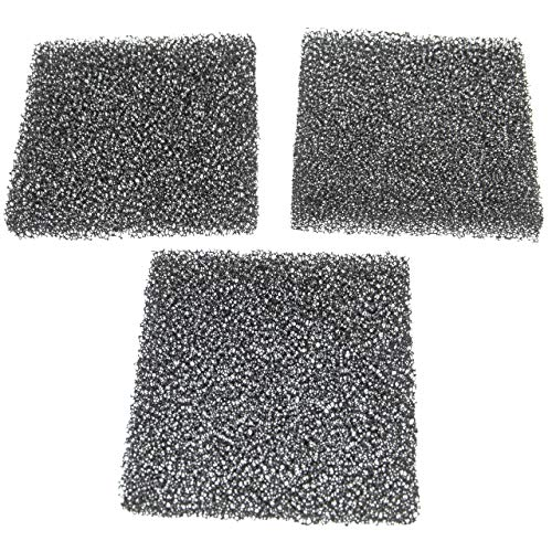 vhbw 3x Luftfilter G2 passend für Lunos ALD-R 110 Lüfter, Badlüfter, Ventilator, Lüftungsgerät (3x Grobstaubfilter)