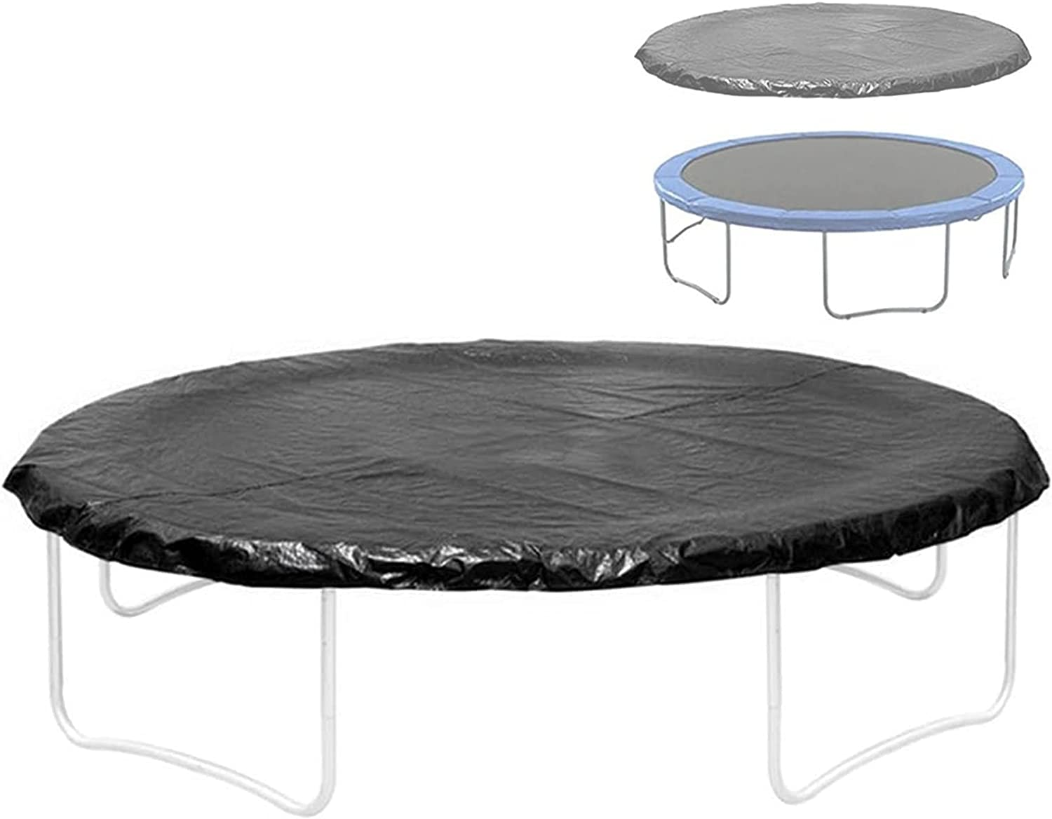 KHXJYC Round New popularity Frame Trampoline Cover Outdoo Cloth In a popularity Rain Dustproof