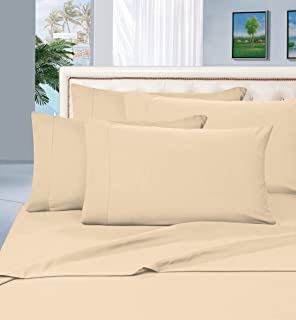 Elegant Comfort 1500 Thread Count Egyptian Quality 4 Piece Wrinkle Free and Fade Resistant Luxurious Bed Sheet Set, Twin, ...