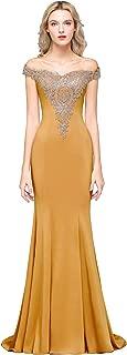 Best mustard yellow prom dress Reviews