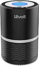 منقي الهواء Levoit للمنزل مع فلتر HEPA صحيح ، تذكير بتغيير الفلتر ، وظيفة إيقاف تشغيل شاشة LED ، أجهزة تنقية الهواء المحمو...