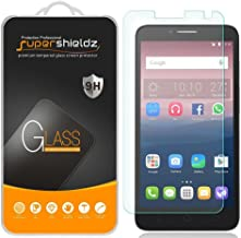 (2 Pack) Supershieldz for Alcatel Onetouch Pixi Glory LTE (A621BG) Tempered Glass Screen Protector, Anti Scratch, Bubble Free