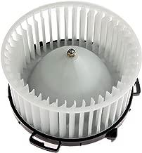 HVAC plastic Heater Blower Motor w/Fan Cage ECCPP Front for 2004-2009 Mazda 3/2006-2010 Mazda 5