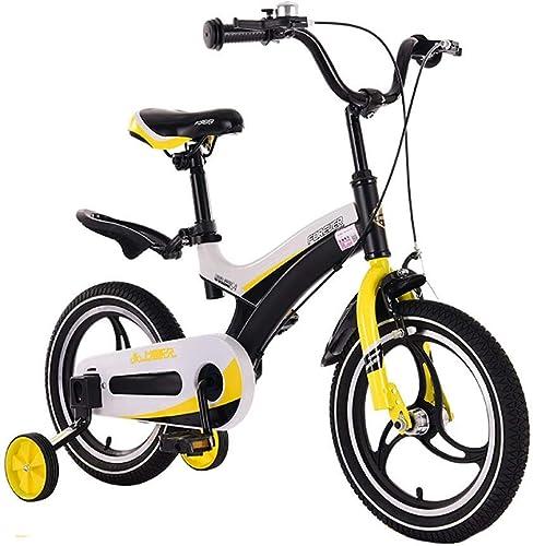 hasta 60% de descuento ZLMI Bicicleta para Niños, 14 14 14 Pulgadas hombres y mujeres Bebé 3-6 años de Edad Cochecito de Niño Pedal Una Bicicleta de Montaña rojoonda  Envío 100% gratuito