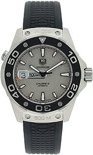 TAG Heuer Men's WAJ2111.FT6015 Aquaracer Calibre 5 Automatic 500M Silver Dial Watch