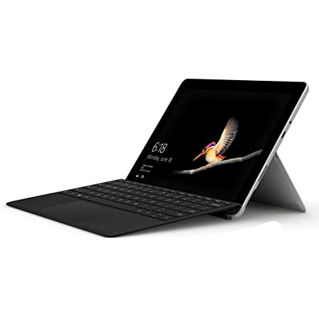"""Microsoft Surface Go Bundle 10"""" FHD IPS Touchscreen Tablet PC Laptop Computer, Intel Pentium Gold 4415Y 1.6GHz, 4GB RAM, 128GB SSD, 802.11ac WiFi, with Black Typecover, Win 10 (Renewed)"""