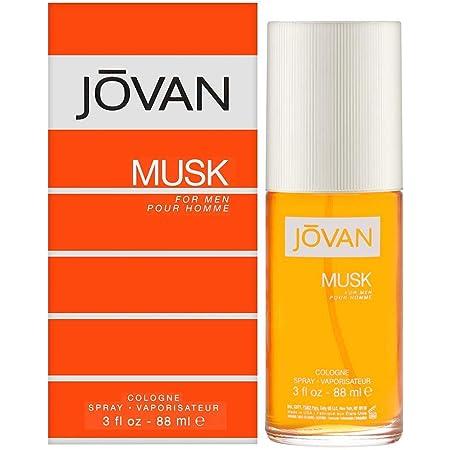 Jovan Musk Cologne Spray for Men, 88ml