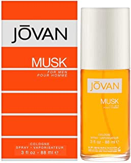 Jovan Musk Cologne Spray for Men, 88ml