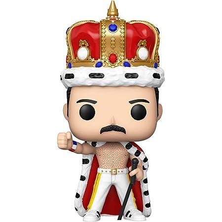 Funko- Pop Rocks: Freddie Mercury King Figura Coleccionable, Multicolor, One Size (50149)