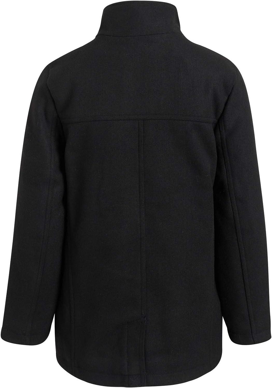 Urban Republic Boys' Wool Dress Coat with Zipper Closure with Bib Insert: Clothing, Shoes & Jewelry