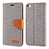 Huawei P8 Max Case, Oxford Leather Wallet Case with Soft