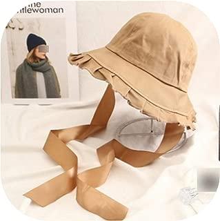 Unisex Summer Foldable Bucket Hat Women Sunscreen Cotton Fishing Hunting Cap Men Basin Travel Fishing Cap