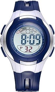 Niño Relojes Digitales,Impermeable Luminoso Encantador Despertador Watch Chico Relojes De Chica Correa con Hebilla Pasador