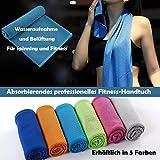 Koopower Fitness Handtuch & Mikrofaser Kaltes Handtücher, Stark saugfähig, Antibakteriell und...