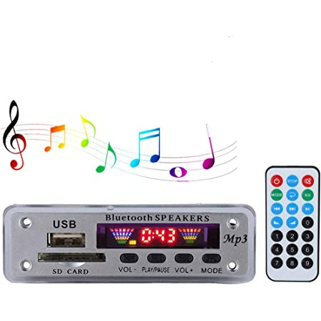Bluetooth Mp3 Wma Fm Aux Decoder Module Audio Tf Sd Elektronik