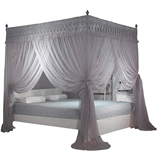 Queen canopy bed curtains - Bed canopies for adults ...