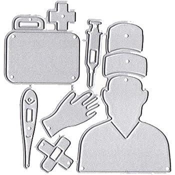 doctor Medical Kit Cutting Dies Metal Stencil for DIY Scrapbooking Paper Craft